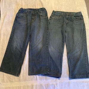 2 pair, Wrangler Hero Originals. Husky boy sz 14